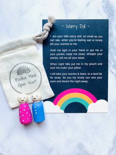 Worry Doll - Pink OR Blue