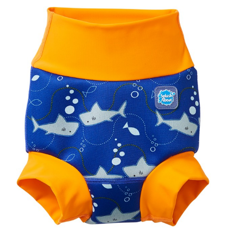 Splash About Happy Nappy - Shark Orange
