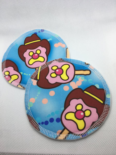 Reusable Breast Pads - Bubble 'O Bill - BLUE