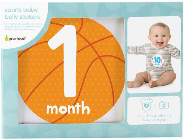 Pearhead - First year Milestone Stickers - Sports