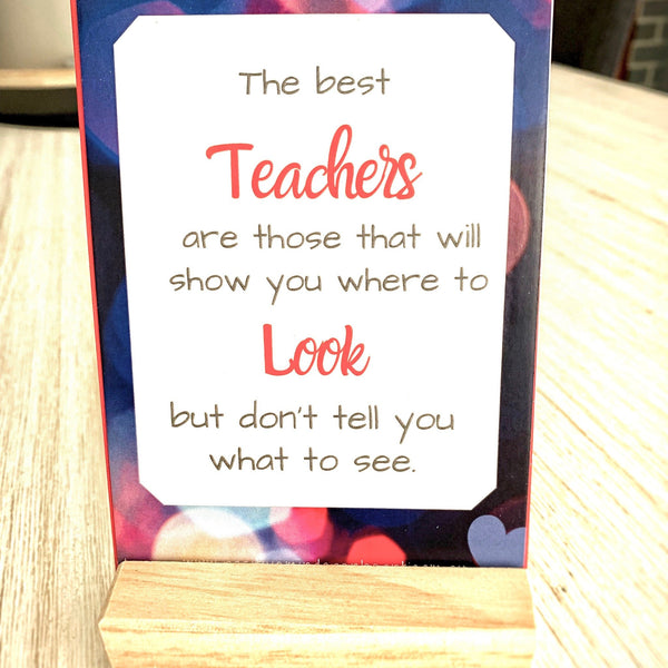 Affirmation Cards - Teacher Gift