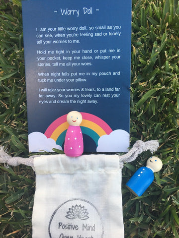 Worry Dolls - Anxiety management tool