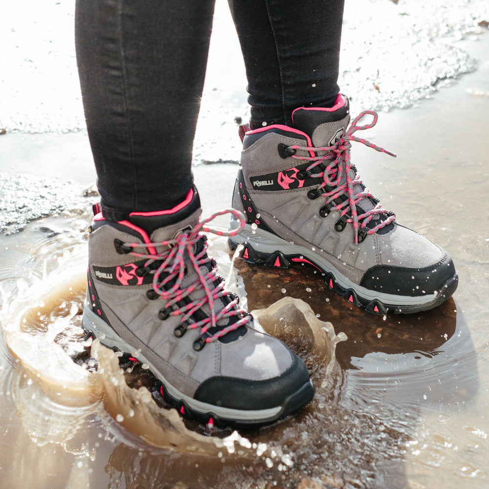 Foxelli Hiking Boots For Women