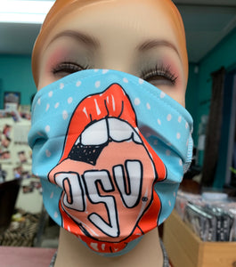 OSU Heart Face Mask