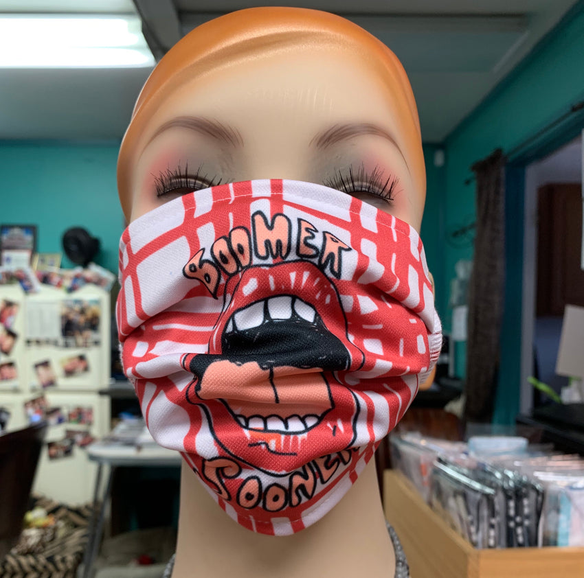 Boomer Sooner Face Mask