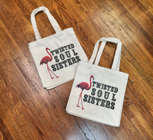 Reusable Twisted Tote
