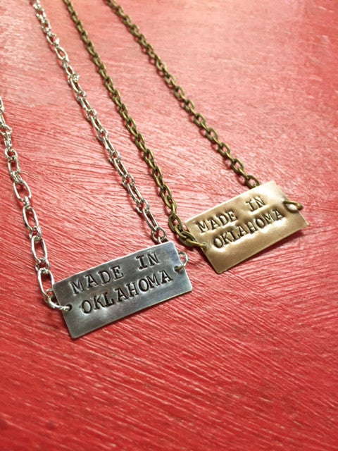 Made in Oklahoma Necklace
