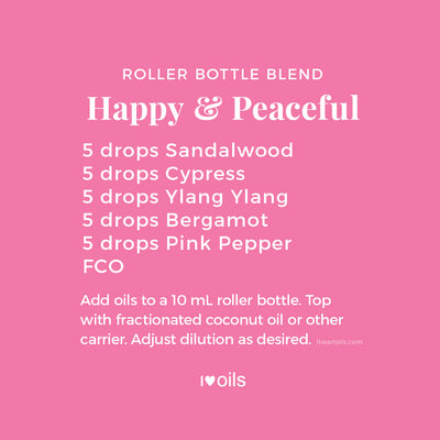Happy & Peaceful Roller Bottle Blend Recipe
