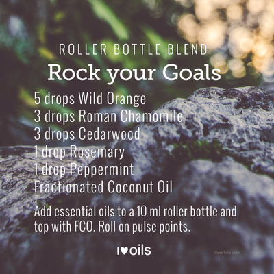 5 Essential Oils for Goal Setting