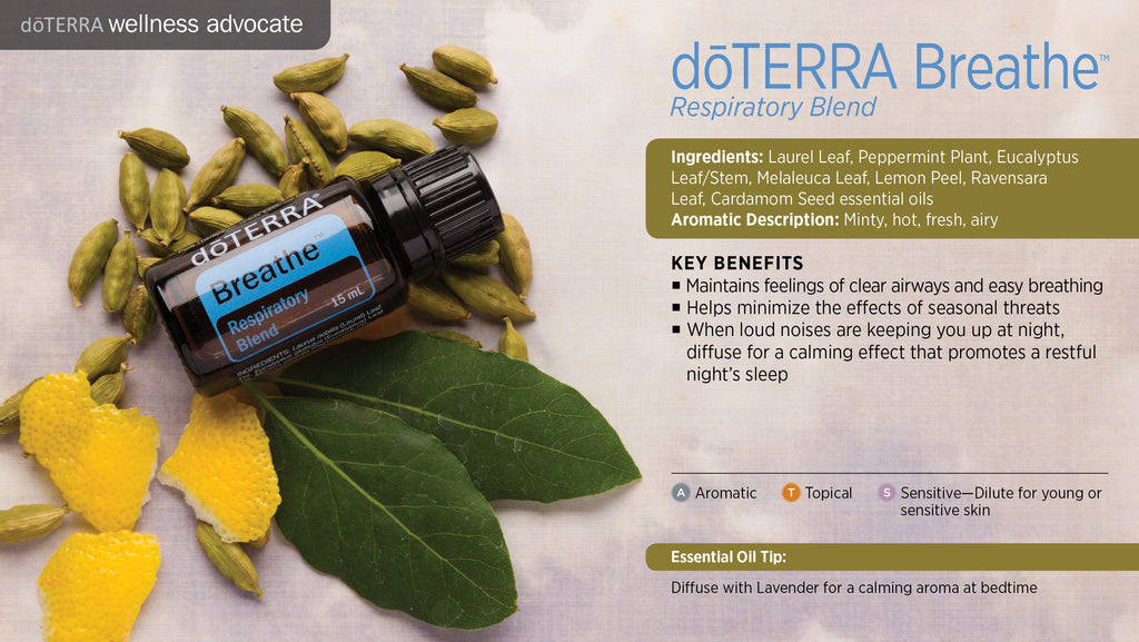 doTERRA Breathe Respiratory Blend Essential Oil