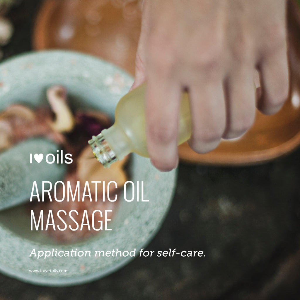 Self Massage with doTERRA Essential Oils