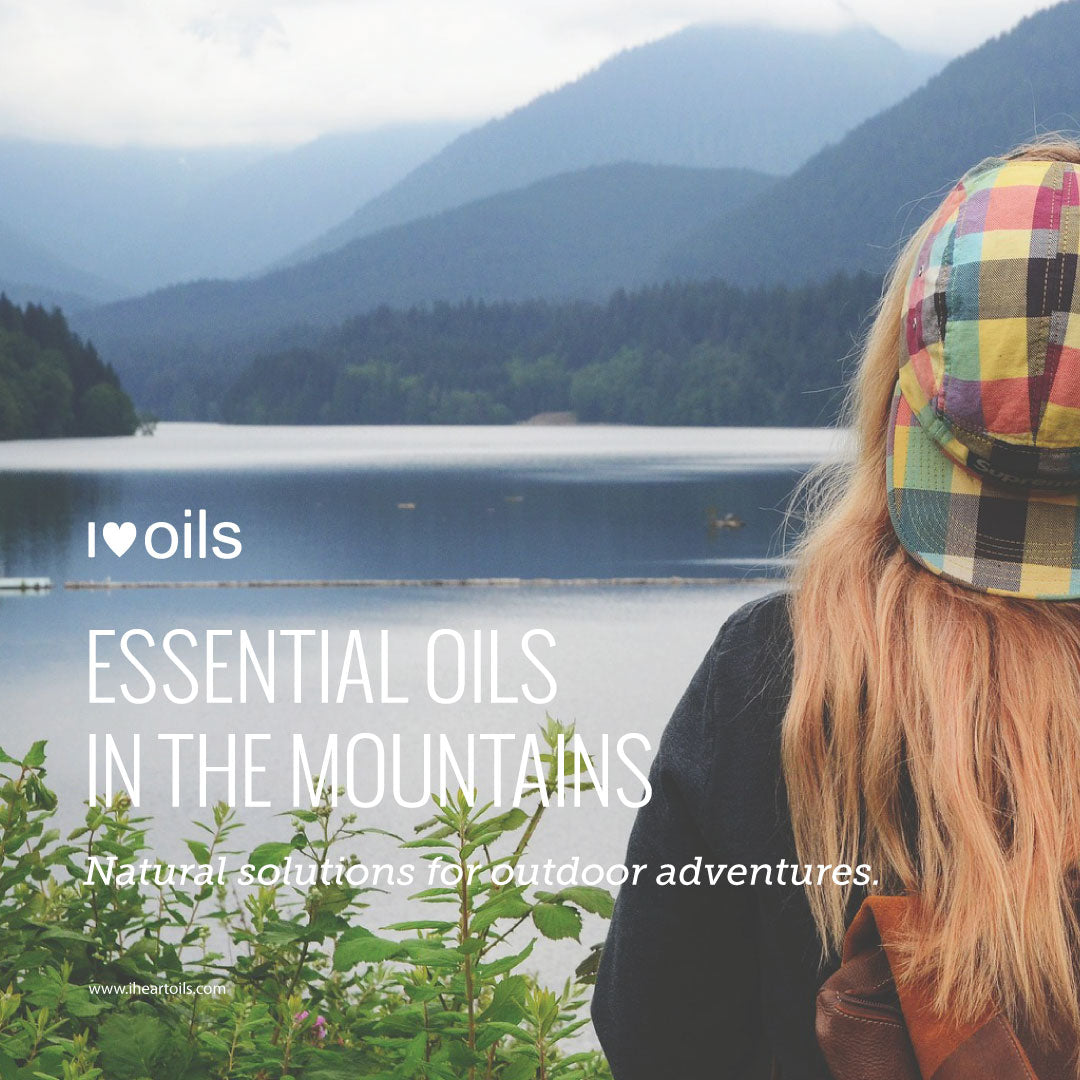 doTerra essential oils for the mountains and outdoor activities