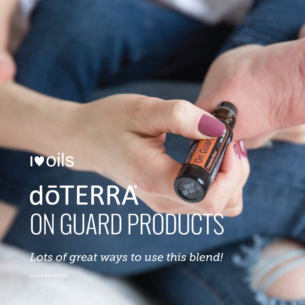 doTERRA On Guard Essential Oil Blend Product Line
