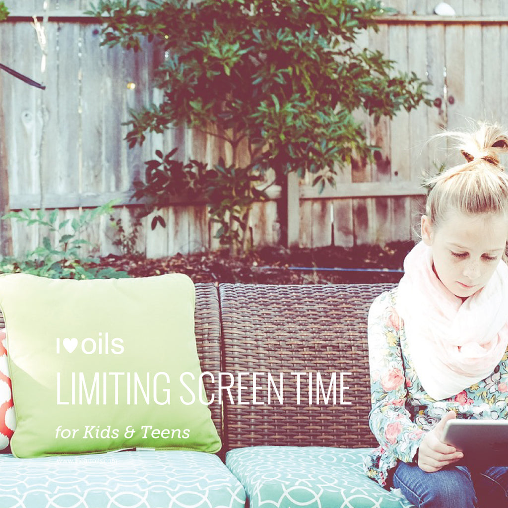 I Heart Oils Limiting Screen Time