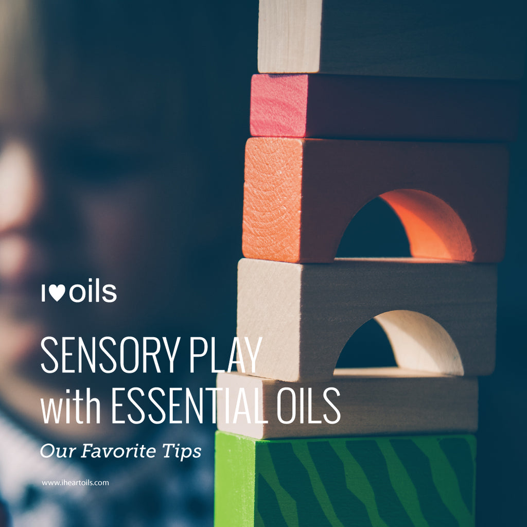 Sensory Play and Essential Oils