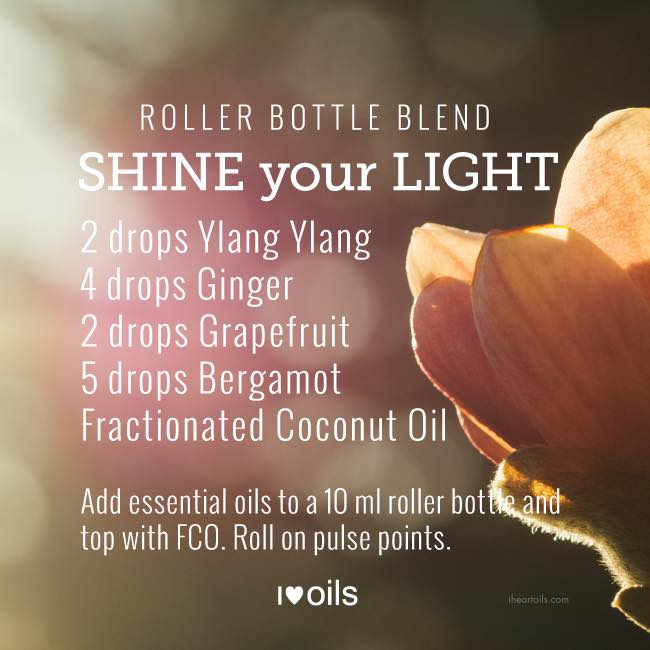 Shine Your Light Essential Oil Roller Bottle Blend