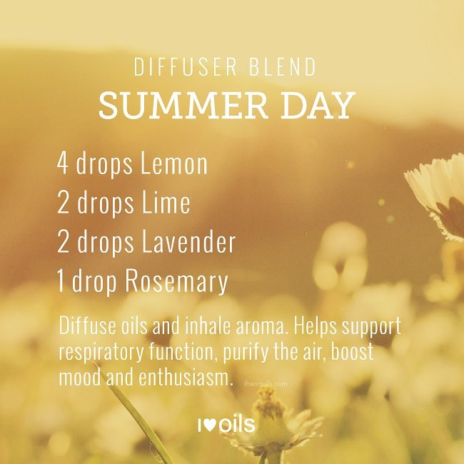 Summer Day Essential Oil Diffuser Blend