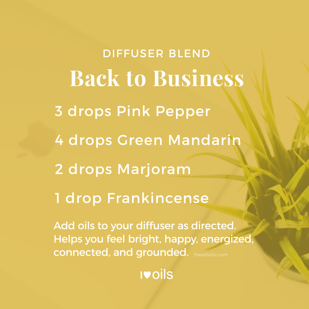 Back to Business Diffuser Blend