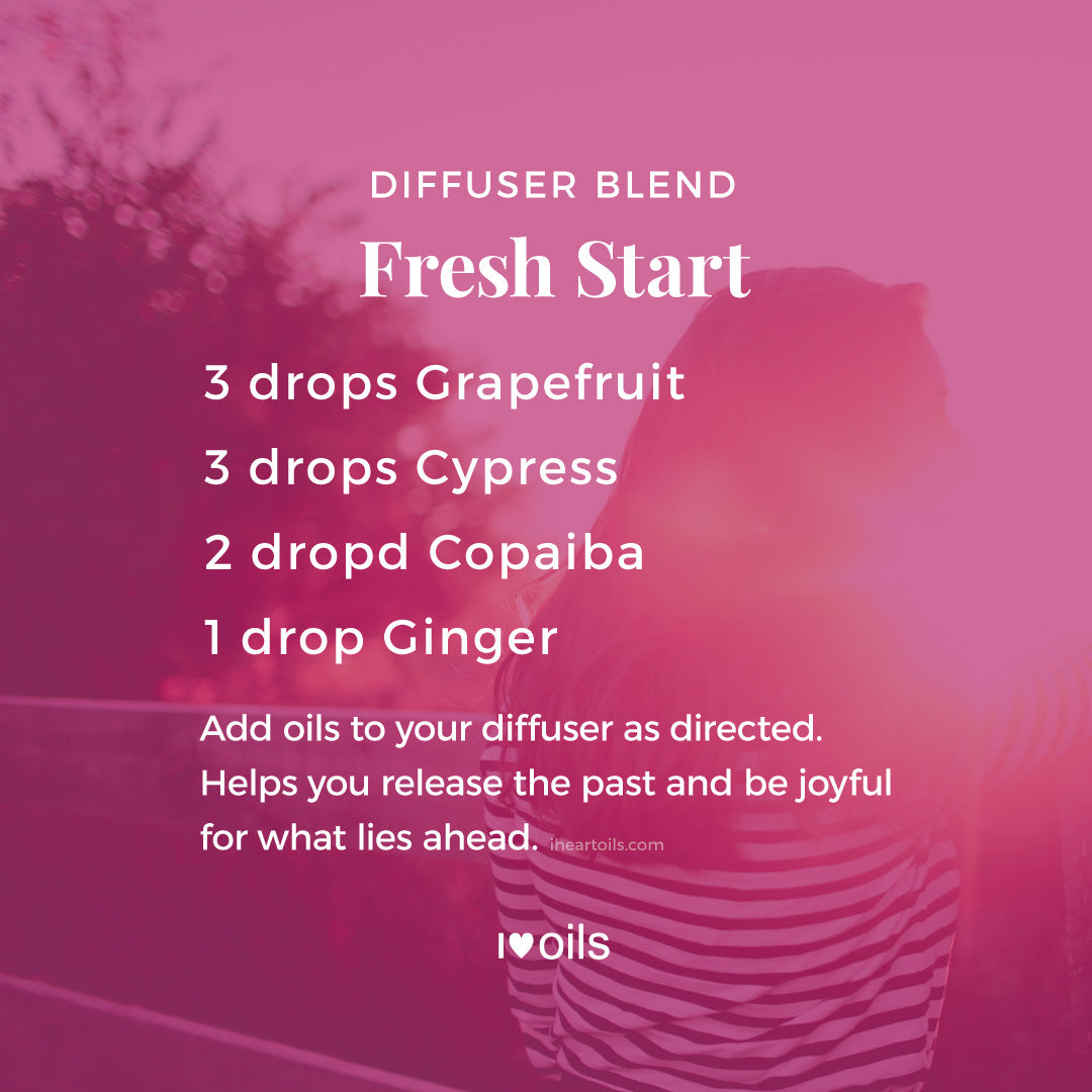 Essential Oil Diffuser Blend Recipe Fresh Start