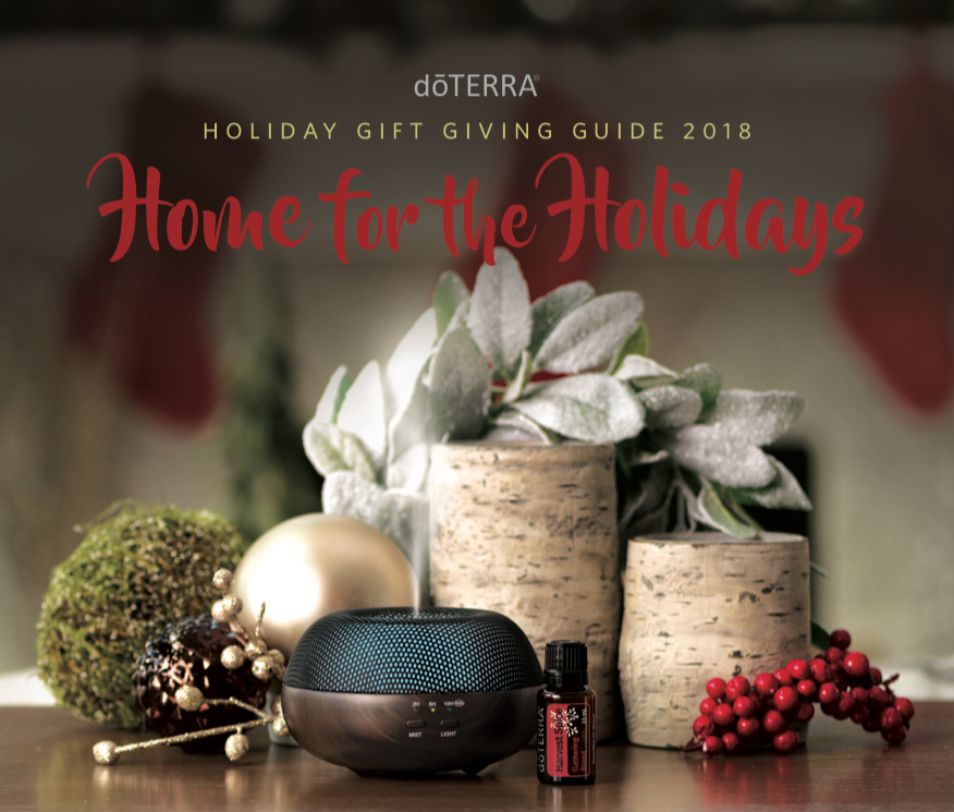 doTERRA Holiday Giving Gift Guide 2018