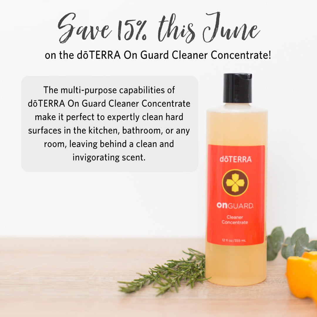 doTERRA June 2019 Promotion OnGuard Cleaner Concentrate