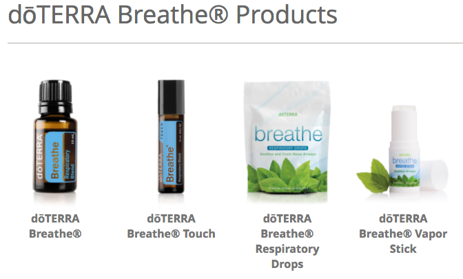 doTERRA Breathe Product Line