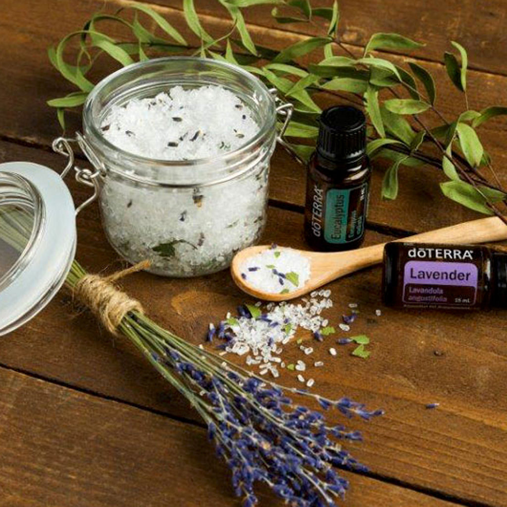 doTERRA Lavender and Eucalyptus Essential Oil Bath Salts
