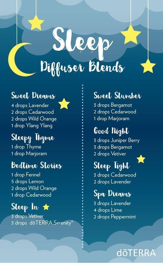doterra sleep essential oils