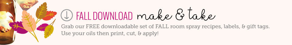 free download fall make and take essential oil room spray