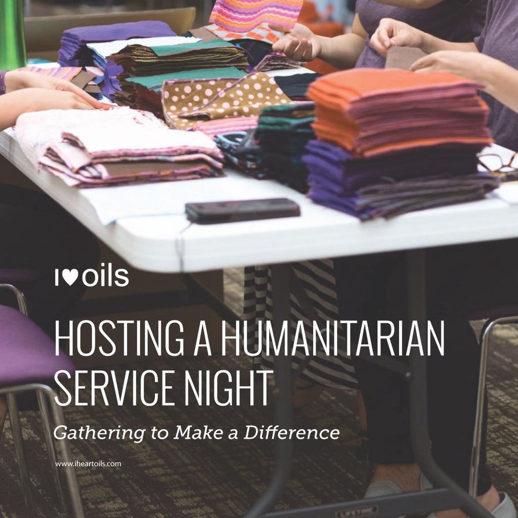 I Heart Oils Hosting a Humanitarian Service Night