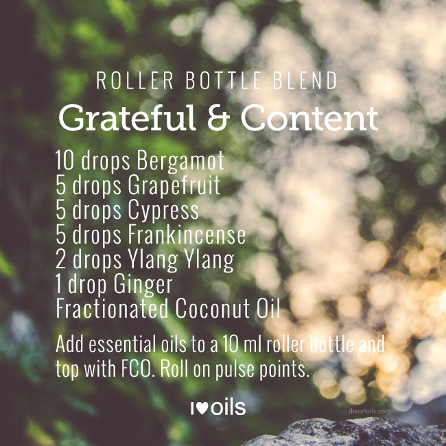 Grateful & Content Roller Bottle Blend
