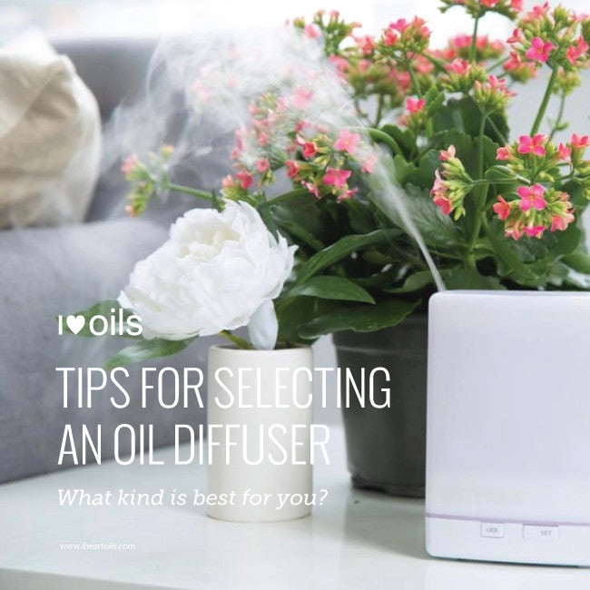 Tips for Selecting an Essential Oil Diffuser