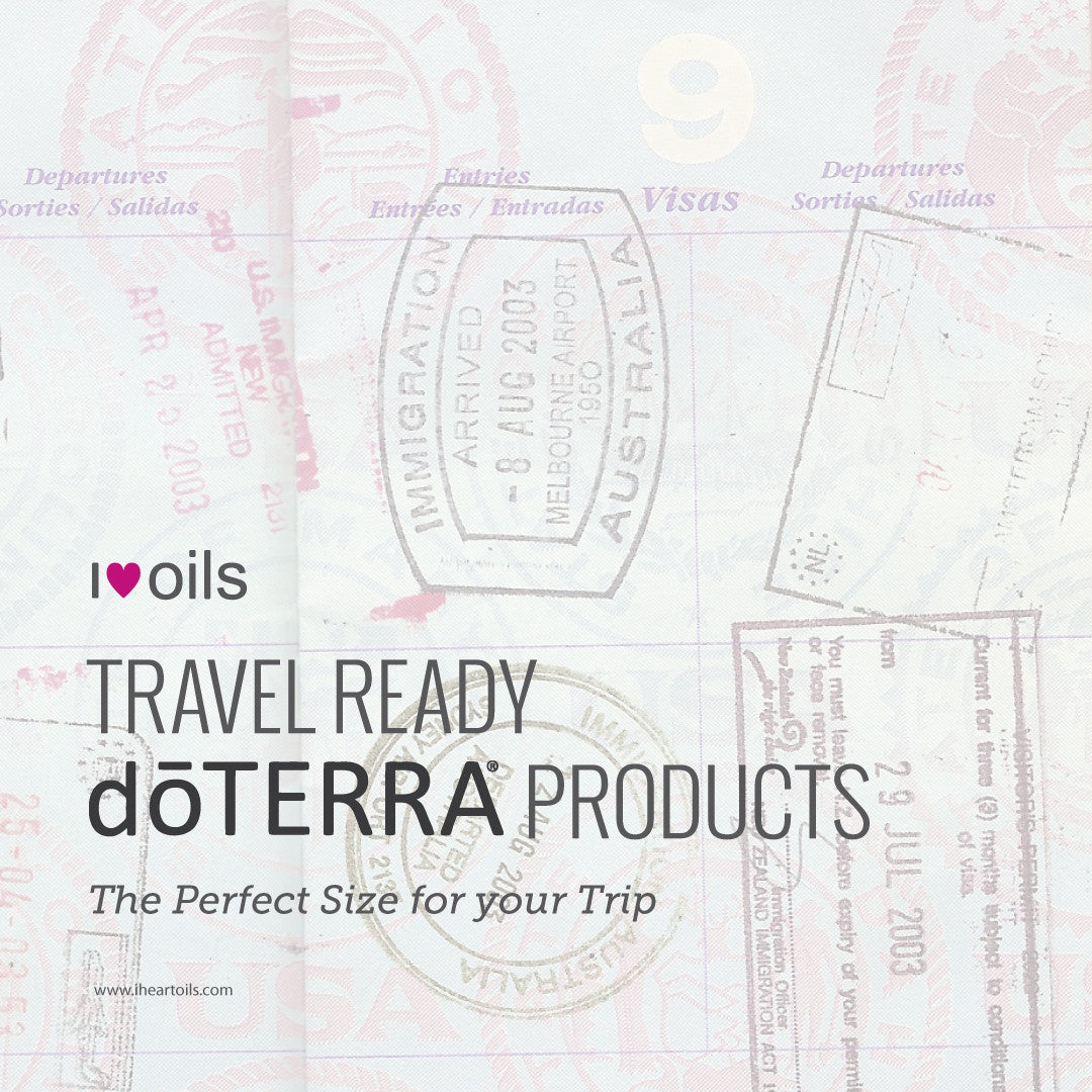 Travel Ready doTerra Products