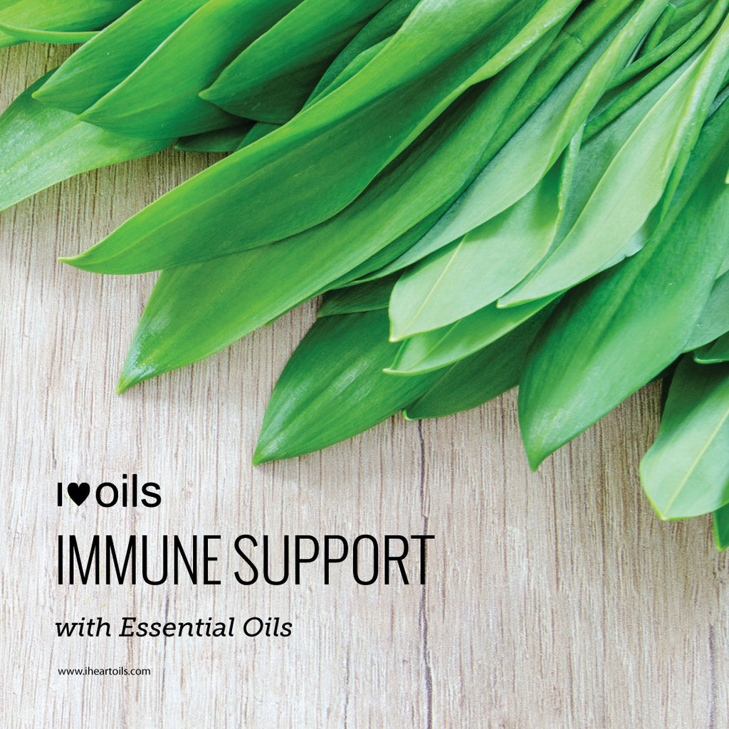 I Heart Oils Immune System Support With Essential Oils