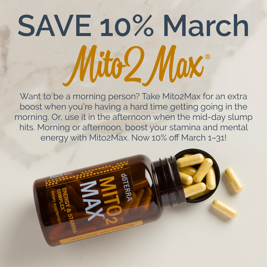 doTERRA Mito2Max March 25019 Promotion
