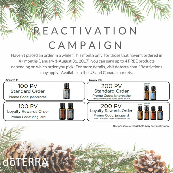 doTERRA 2018 Reactivation Campaign