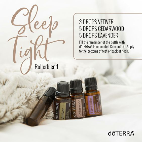 Sleep Tight roller bottle blend recipe