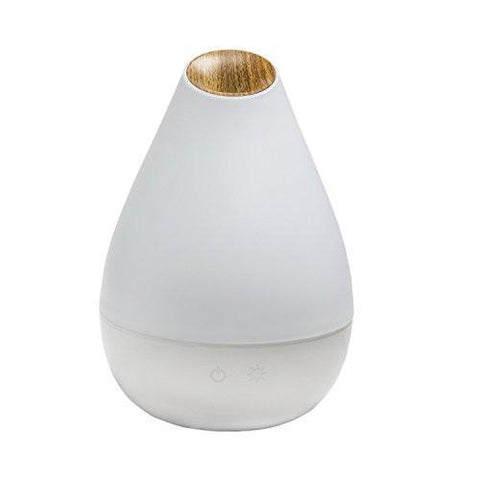 1.3L White and Wood Grain Essential Oil Diffuser