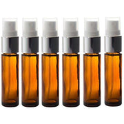 10ml Amber Glass Spray Bottles (6 Pack)