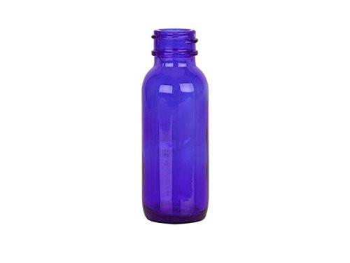 15ml Cobalt Blue Glass Bottles With Dropper Caps (3 Pack)