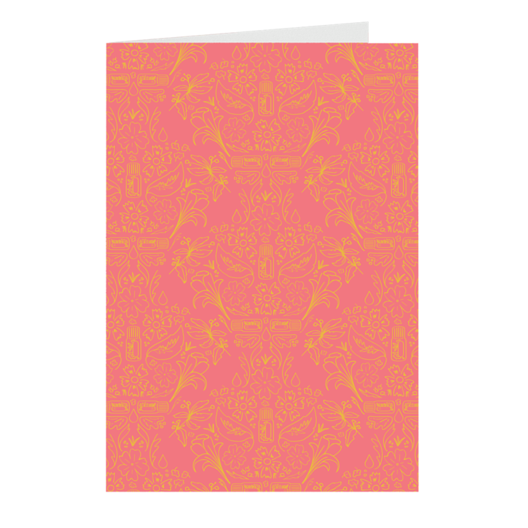 Essential Bouquet Notecards- Pink