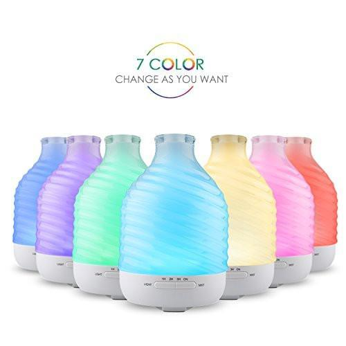 200ml White Glass Essential Oil Diffuser