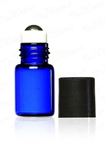 2ml Cobalt Blue Glass Roller Bottles (36 Pack)