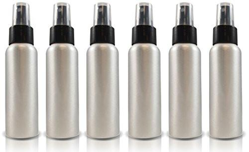 2oz Aluminum Spray Bottles (6 Pack)
