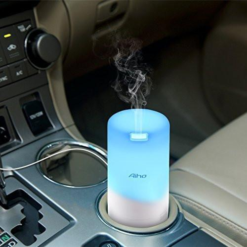 50ml White Vehicle & USB Essential Oil Diffuser