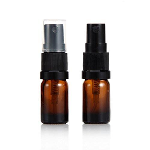 5ml Amber Glass Spray Bottles (5 Pack)
