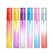 8ml Multi-colored Ombre Glass Spray Bottles (6 Pack)