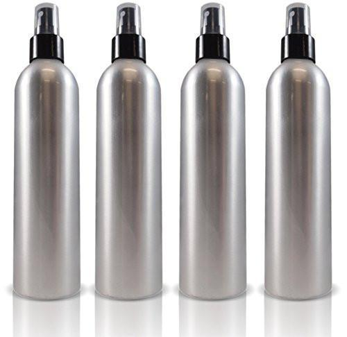 8oz Aluminum Spray Bottles (4 Pack)