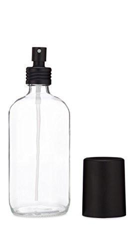 8oz Clear Glass Spray Bottle