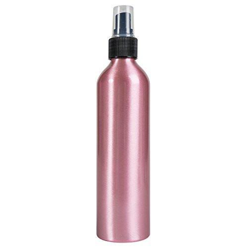 8oz Pink Aluminum Spray Bottle